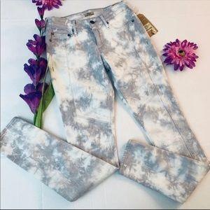 True Religion Halle Tie Dye Skinny Jeans S…